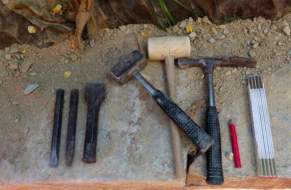 Stein Werkzeug